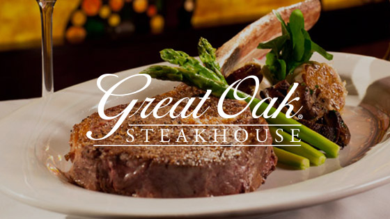 THE GREAT OAK STEAKHOUSE