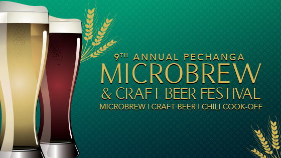 Pechanga's 9th Annual Microbrew, Craft Beer & Chili Cook-off