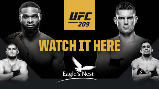 UFC 209 Watch It Here