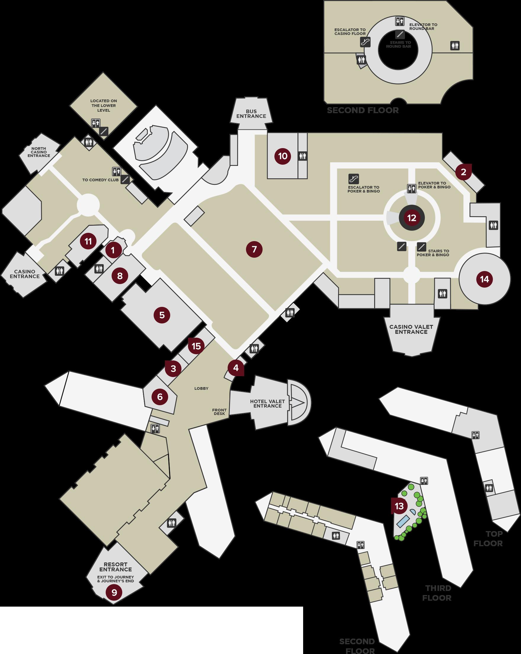 Property map pechanga resort casino for Floor 5 map swordburst 2