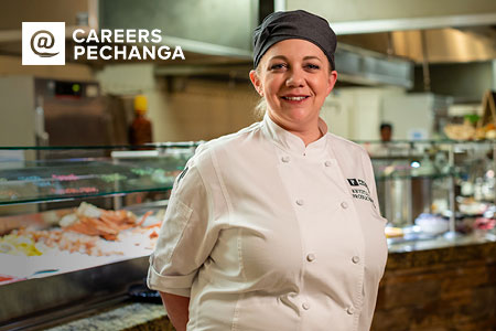 Krystle Schenk Pechanga Buffet Chef Spotlight