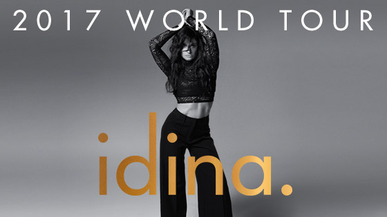 Idina Menzel 2017 World Tour