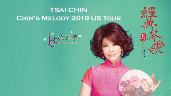 "TSAI CHIN ""CHINS Melody"" US Tour Concert 2019"