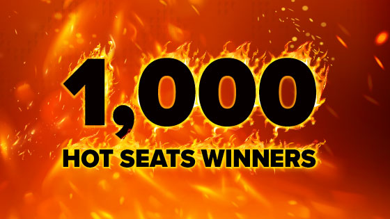 1,000 Hot Seat Winners